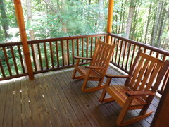 Seating on Back Deck