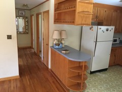 Kitchen Island & Hall