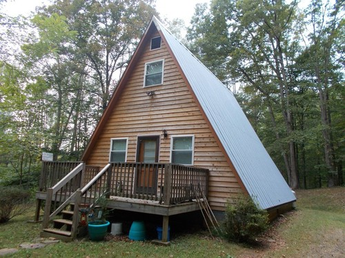 A-Frame Home on 7.19 Acres - 3063 New Hope Road - Stuart, VA